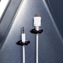 8 個車のケーブルホルダー多機能タイクリップ定着オーガナイザー車の充電器ラインクラスプ高品質ヘッドホン