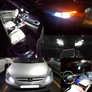 Image 5 - 10個led駆動8 smd 1206 8led 8SMD自動車インテリアライト高速道路ライト自動ウェッジ照明dc 12 12vホット販売ホワイトcob led