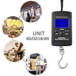 Image 5 - Vastar 40kg x 10g waga cyfrowa Mini do wędkowania bagaż podróżny waga bezstopniowa przenośna elektroniczna waga z hakiem