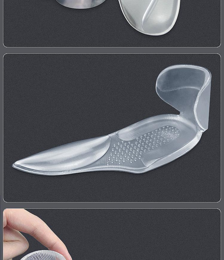 Ортопедические стельки силиконовые мягкой вставкой вкладыш для