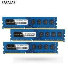 Ram 4gb 8gb 1066mhz 1333mhz 1600mhz ram de rasalas ddr3 memória de mesa PC3-8500 PC3-10600 PC3-12800 240 pinos não-memória de dimm ecc