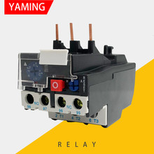 Relais de surcharge thermique 3 broches JR28-25 électrique 1-25A 690V 50/60Hz, Protection de puissance réglable 0.1 – 32A remplace LRD L2D13
