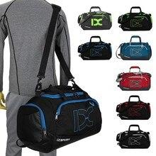 Профессиональная Водонепроницаемая большая спортивная сумка для занятий спортом на открытом воздухе 40л Мужская Женская сухая влажная разделенная тренировочная сумка на одно плечо и сумка для рук