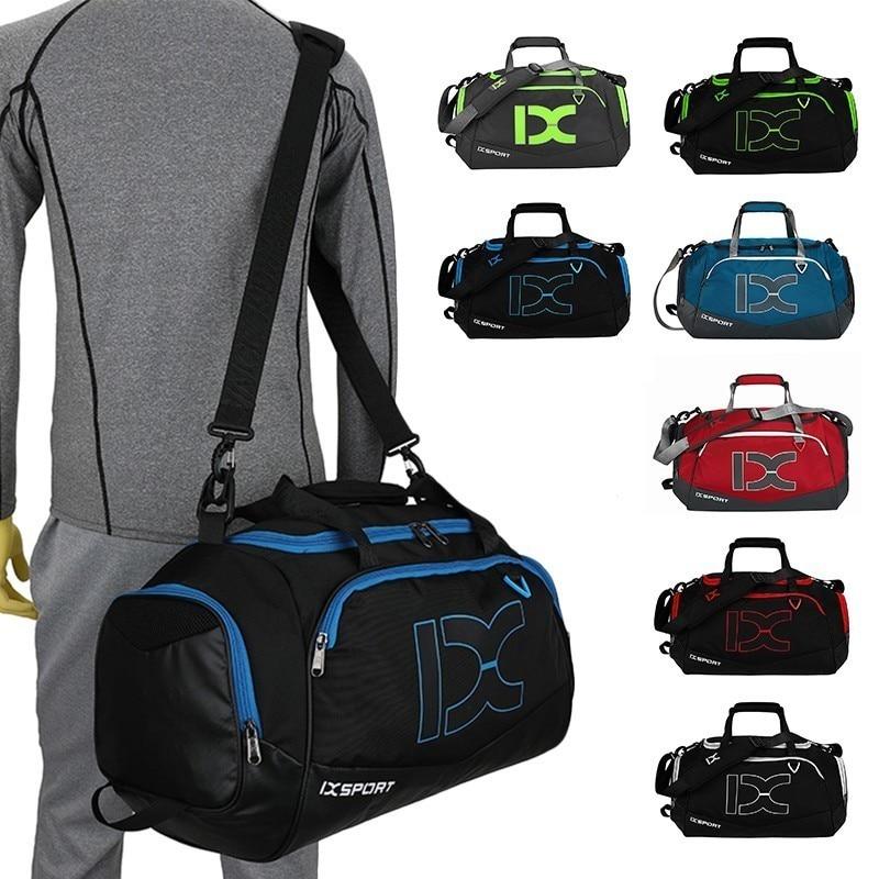 Professional Waterproof Large Outdoor Sports Gym Bag 40L Men Women Dry Wet Seperated Training HandBag Single Shoulder & Hand Bag