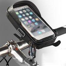 6.0 inch Waterproof Bike Bicycle Mobile Phone Holder Stand M