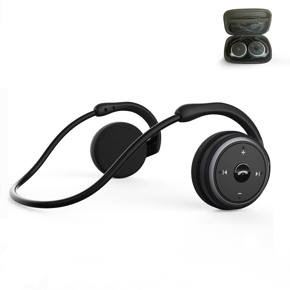2019 New Mitvaz A6 AX-698 upgrade version  Hot Sell Bluetooth 5 0 Sports Running Headphones Portable Wireless Earphones