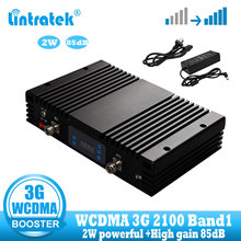 lintratek 85dB Gain 3G WCDMA Signal booster amplifier 2100mhz umts signal repeater 3g 2100 wcdma communication data