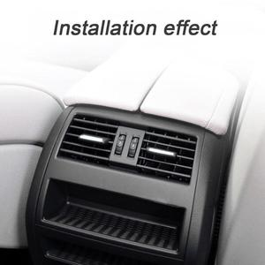 Image 5 - Air Conditioning Vent Outlet Rear Center Console Fresh Air Outlet Vent Grille Cover for BMW 5 SerieF10 F18 Auto Accessories Part