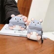 Мультяшные наушники в форме мыши чехол для air pods pro 3 защитный