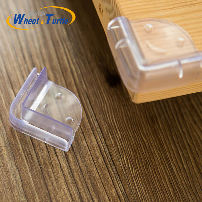 4PCS/Lot Child Baby Silicone Safety Protector Table Corner Protection From Children Anticollision Edge Corners Guards Cover Kids