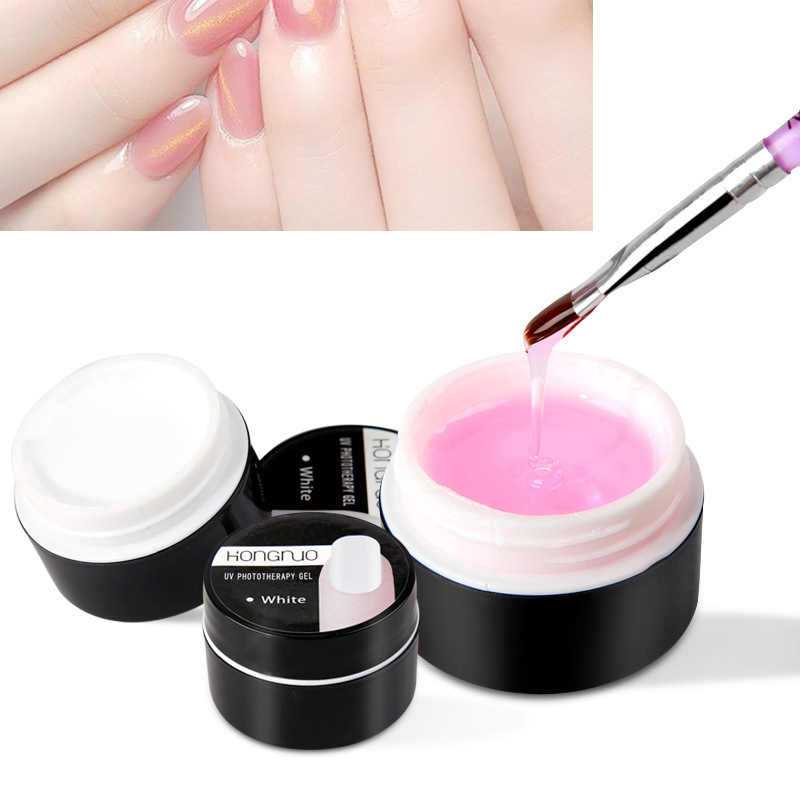 Hot Koop 20g Poly Gel Nagel Uitbreiding Crystal Jelly Polygel Nail Gel UV LED Hard Gel Acryl Builder gel Anti Oplossing