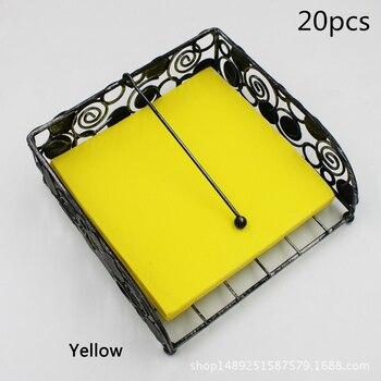 20pcs yellow paper napkins yellow color theme birthday party decorations 33*33cm napkins yellow towels tissues party decorations yellow