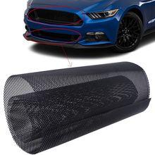 6x12mm Universal Truck Car Grille Mesh Net Sheet Aluminum Rhombic Grill Body Front Bumper