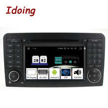 "Idoing 7""2Din Andriod 9.0 Car Radio DVD Multimedia Player For Mercedes-Benz W164/X164 PX5 4G+64G 8Core IPS Screen GPS Navigation - DISCOUNT ITEM  35% OFF Automobiles & Motorcycles"