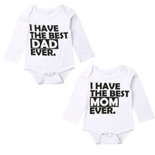 Fashion Newborn Baby Girls Boys Long Sleeve Cotton Romper Jumpsuit Autumn Winter Clothes Outfits(China)