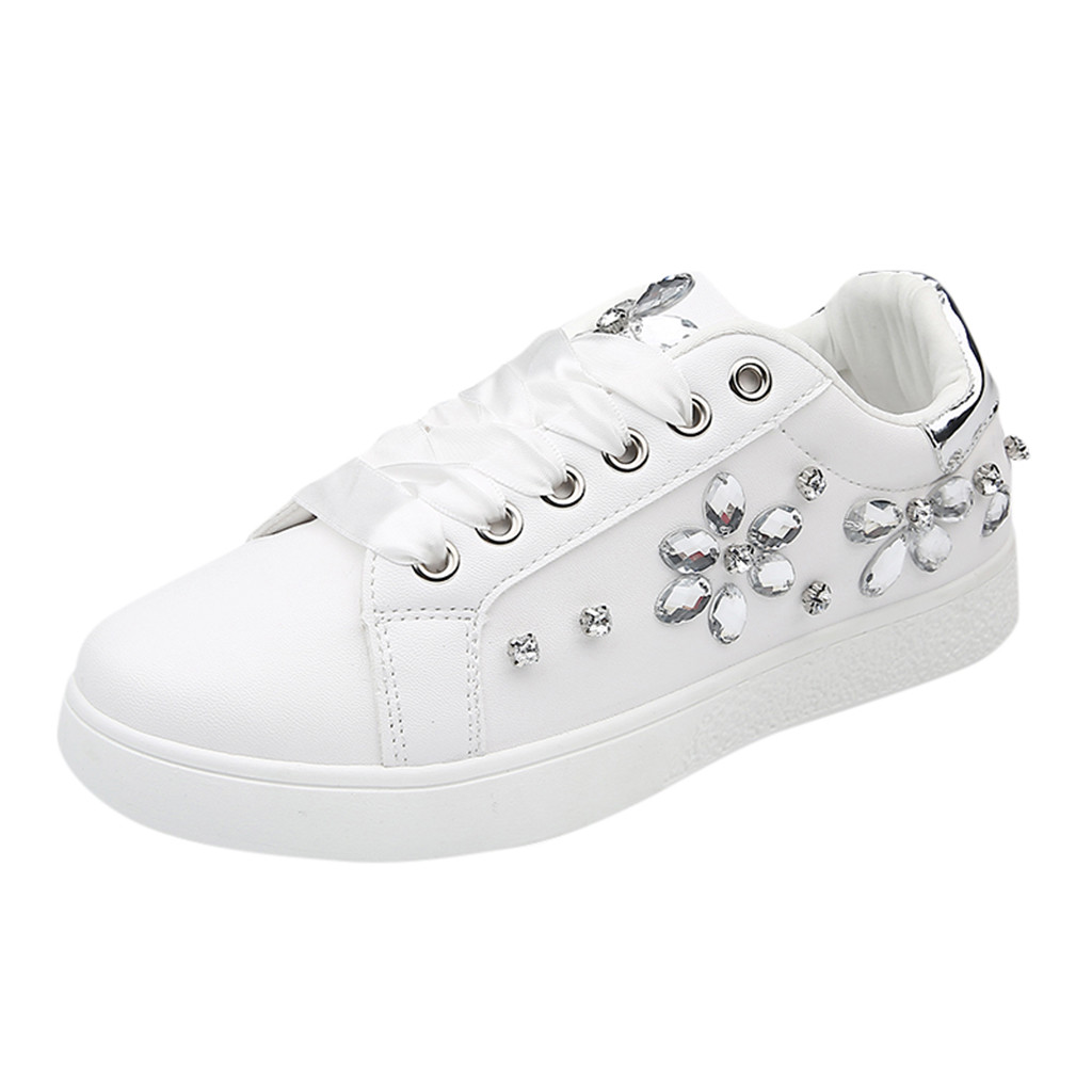 SAGACE women's sneakers women white Sports Shoes for female Stitching Student Casual Shoe women sneakers Flat White Shos Outdoor