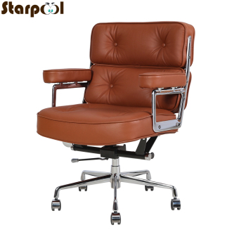 New products boss computer chair office home swivel massage chair lifting adjustable chair Brown Swivel Chair computer chair home boss chair leather business reclining massage executive chair solid wood swivel chair lift office seat