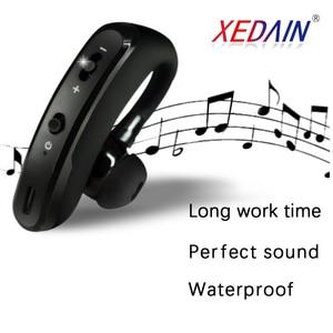 Image 5 - Bluetooth kulaklık kablosuz kulaklık Handsfree kulaklık kulaklık HD mikrofon ile sürücü için spor telefon iPhone Samsung xiaomi
