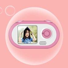 Подарок игрушка фотография LSR цифровой день рождения милый Многофункциональный энергосберегающий ребенок 1,5 дюймов HD дети камера Мини мультфильм
