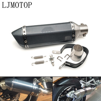 Universal Modified Motorcycle Exhaust Muffler with DB Killer For Honda CBF1000 CB600F CBF600 CBR600F Hornet 250 cb400