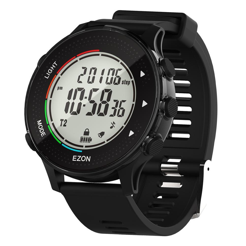Relojes digitales para hombres con podómetro Cronómetro - Relojes para hombres - foto 5