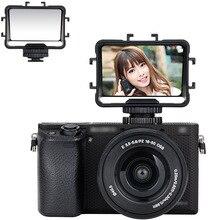 JJC كاميرا مرآة الوجه شاشة Selfie مرآة لسوني a6300 a6000 a7 II III فوجي X T2 X T3 XT2 XE4 XT3 XT20 XT30 نيكون Z5 Z6 Z7