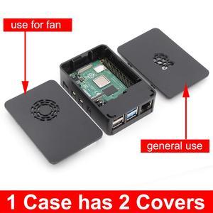 Image 2 - PMMA acrylic CASE BOX for Raspberry PI 4 Model B 1GB/2GB/4GB plastic enclosure housing shell cover of Raspberry PI 4 B PI4 4B