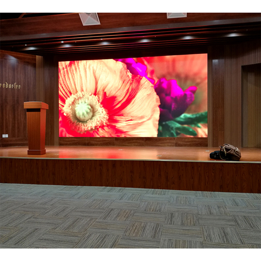 Indoor Advertising Board LED Display Video Wall P2.5 SMD2121 480x480mm Die Casting Aluminum Cabinet Rental Led Screen
