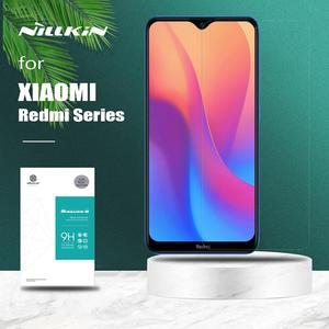 Image 1 - Für Xiaomi Redmi 9 9A 7A K30 Poco X3 NFC F2 Pro Nillkin Gehärtetem Glas Display schutz auf Xiaomi Redmi hinweis 9 9S 8T 8 7 Pro Max