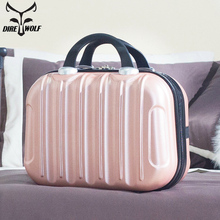 Women Professional Makeup Bag Suitcase Waterproof Travel Cosmetic Bag Beautician Toiletries Organizer Female Make up Bags Case