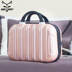 Image 1 - Women Professional Makeup Bag Suitcase Waterproof Travel Cosmetic Bag Beautician Toiletries Organizer Female Make up Bags Case