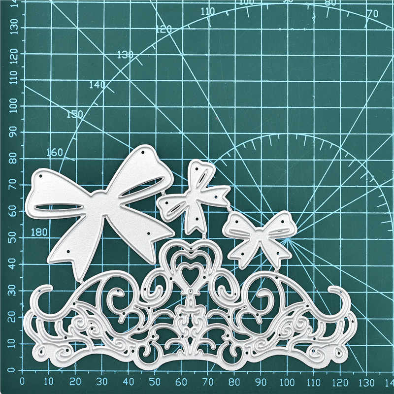 DiyArts szablony dla DIY Scrapbooking ozdobna koronka kwiaty znaczki na tworzenie kartek folia na gorąco tłoczenie szablon nowy 2020