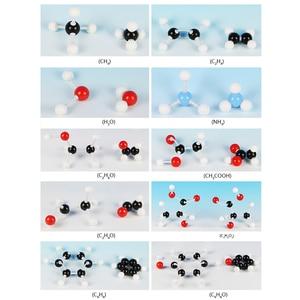 Image 4 - 240 Pcs כימיה Atom מולקולריים ערכת סט כללי מדעי ילדים חינוכיים דגם סט