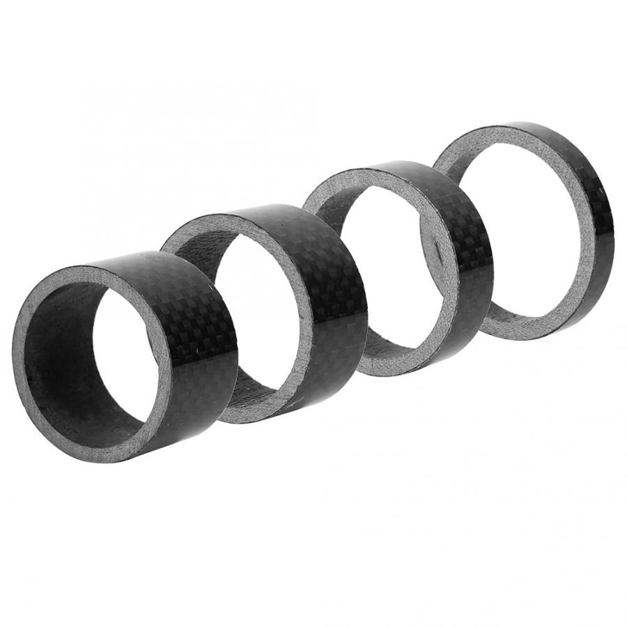 1-1//8 Inch Carbon Spacer Headset Handlebar Stem Spacers 10//15//20mm For Bike Fork