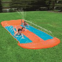 5.49 Surf 'N Water Slide Fun Lawn Water Slides Pools For Kids Summer PVC Games Center Backyard Outdoor Children Adult Toys