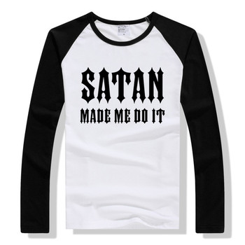 LYTLM SATAN MADE ME DO IT Long Sleeve T Shirt Women Streetwear women top Autumn 2020 korean style tops & tees woman shirt