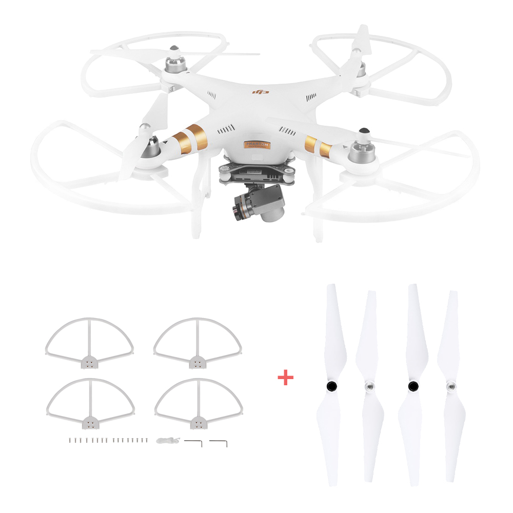 Props Guard 9450 Propeller for Phantom 3 Standard Professional Advanced SE 4pcs Protector Ring Quick Release Blade Propellers