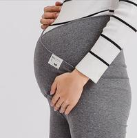 Across V Low Waist Belly Maternity Legging Spring Autumn Fashion Knitted Clothes for Pregnant Women Pregnancy Skinny Pants