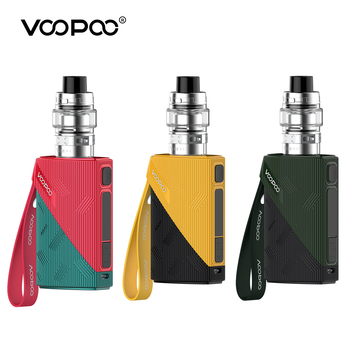 Original VOOPOO FIND TC Kit 120W Box Mod 4400mAh Built-In Battery 5ml Uforce T2 Tank Electronic Cigarette Vaporizer Vape Kit original ehpro 2 in 1 fusion 150w tc kit max 150w w fusion mod