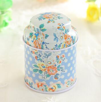 10 pièces Europe type style thé caddy recevoir boîte bonbons boîte de rangement mariage faveur étain boîte câble organisateur conteneur ménage