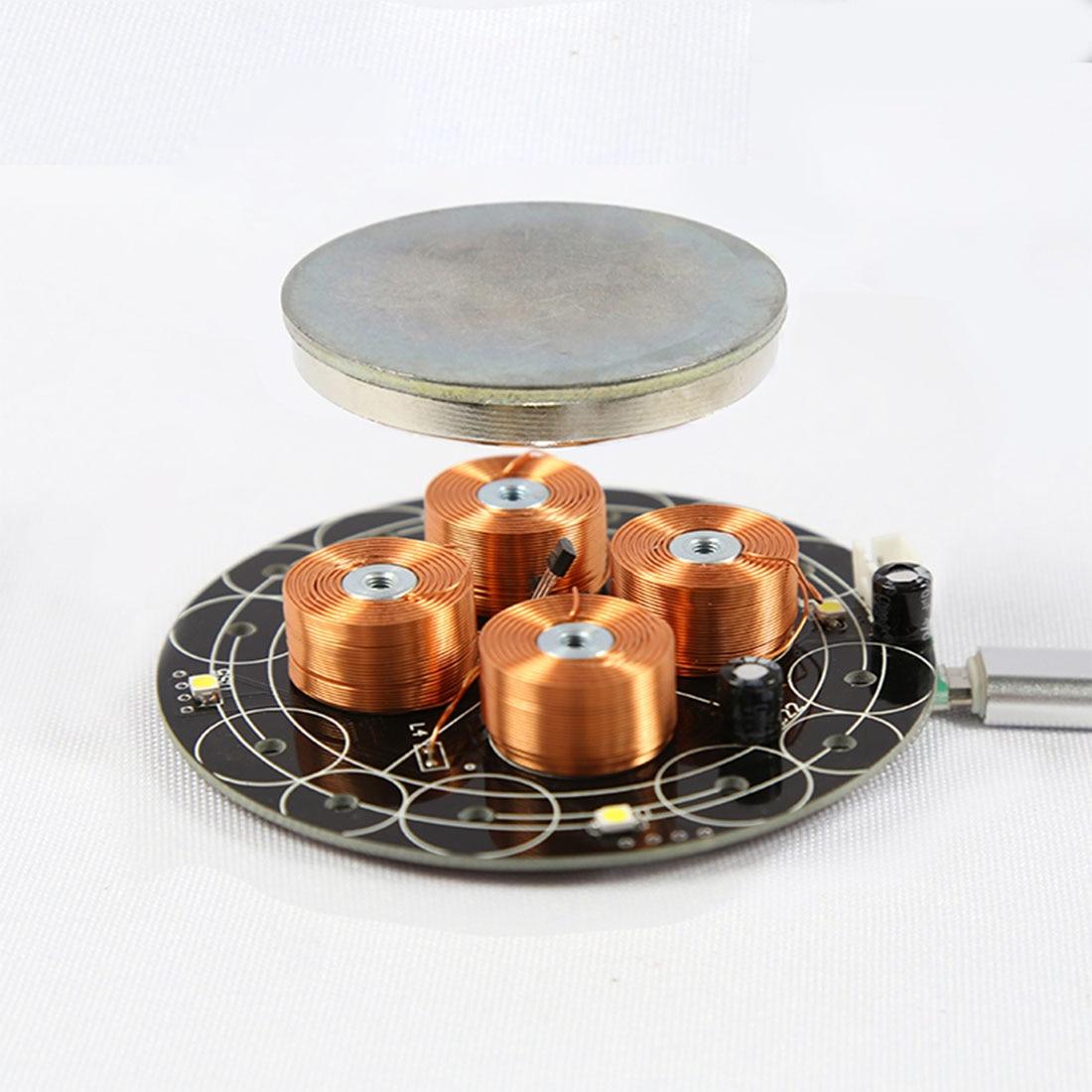 New Hot 1pcs Magnetic Levitation Module DIY Maglev Furnishing Articles Kit Load-Bearing 150g 300g 500g