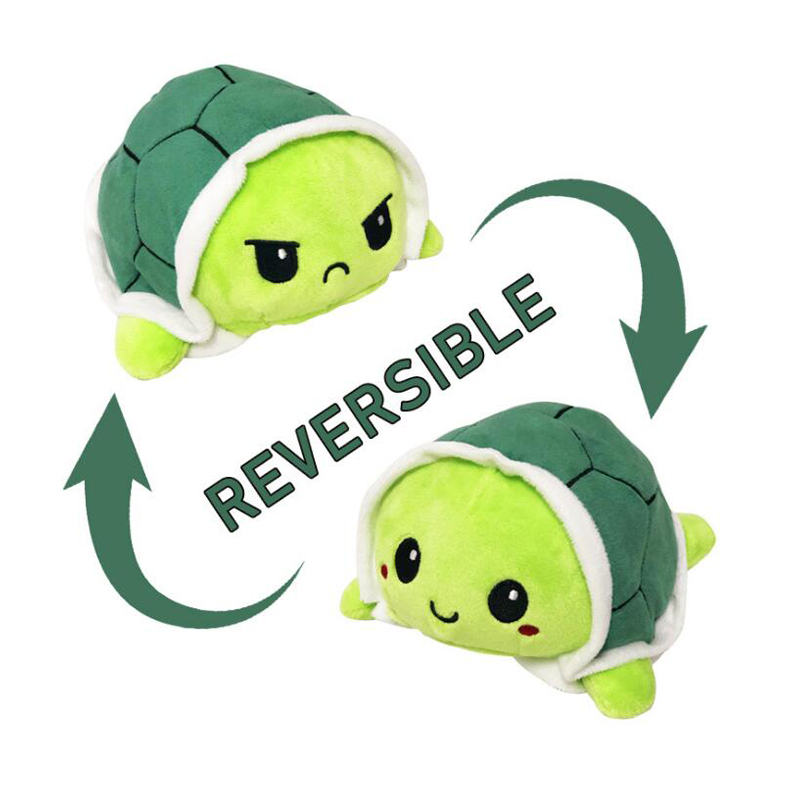 Peluches reversibles