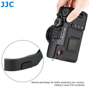 Image 3 - JJC Deluxe Metal Thumbs Up Grip For Fujifilm X Pro3 XPro3 X Pro2 XPro2 X Pro1 Camera Hot Shoe Hand Grip Camera Accessories