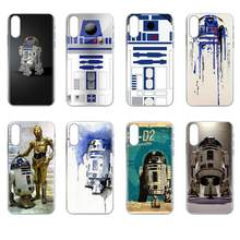 Soft Case Capa Cover For Xiaomi Redmi mi10 lite Pro Note 9 PRO Max 9s Mi9 K30 K20 Pro 5G Bb8 Bb 8 R2d2 Robot Pastel(China)