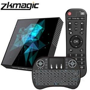 Image 1 - Akıllı Tv kutusu A95X Z2 Rockchip RK33118 dört çekirdekli 64bit Android 9.0 2.4/5.0G çift WiFi bluetooth google Play Android Set top Box