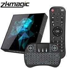 Dispositivo de Tv inteligente A95X Z2 Rockchip RK33118 Quad Core 64bit Android 9,0 2,4/5,0G Dual WiFi Bluethooth Google Play Set Android