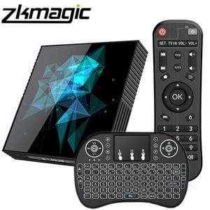 Image 1 - Smart Tv Box A95X Z2 Rockchip RK33118 Quad Core 64bit Android 9.0 2.4/5.0G Dual WiFi Bluethooth Google Play Android Set top Box