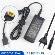 20V 2.25A Ordinateur Portable Chargeur Adaptateur secteur pour Lenovo THINKPAD X1 1291 1295 1296 13 20GJ 20JC 20JB 20GG S531 20EX 01FR05