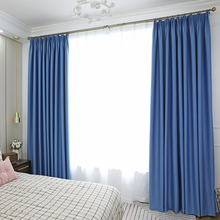 Innermor Solid Blackout Curtains For Living room High shading Thick curtains for bedroom Modern curtain for