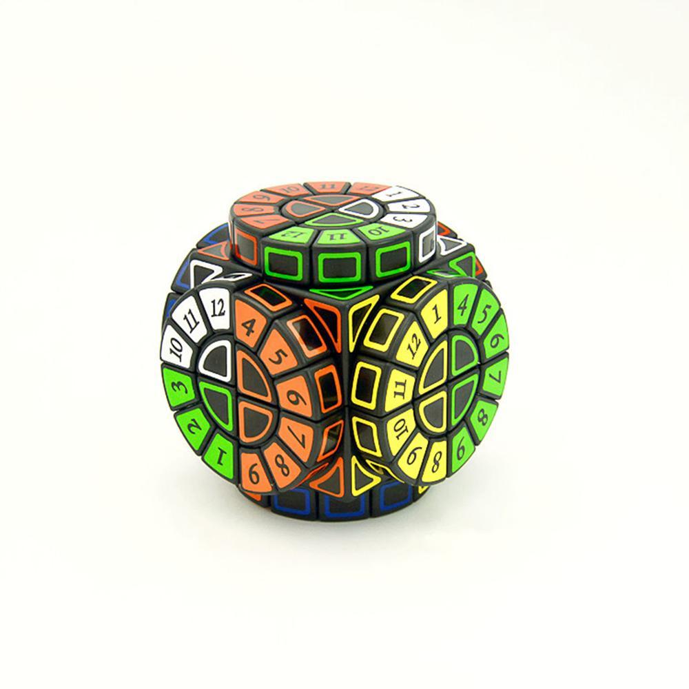 2019 nouveautés Machine à remonter le temps Cube magique créatif Souvenir édition Puzzle jouet-noir